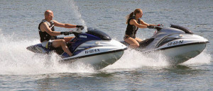 ccommons-PetervanderSluijs-Man_and_a_woman_on_jetski-small